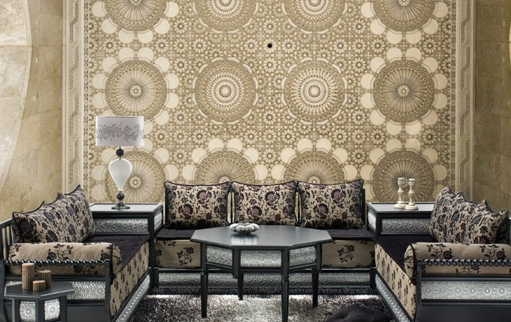 Salon marocain 2015 moderne