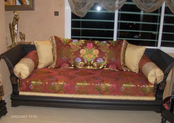 photo de salon marocain moderne - Decoration Triate Du Salon Beldi