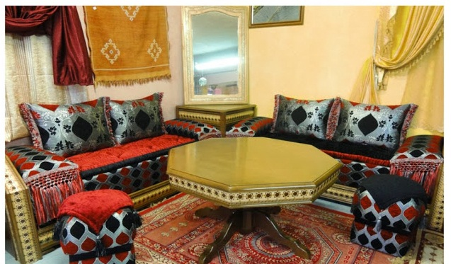 Le Salon Marocain Contemporain Confortable