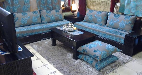 Décoration marocaine pour salon à Montréal - Déco salon marocain