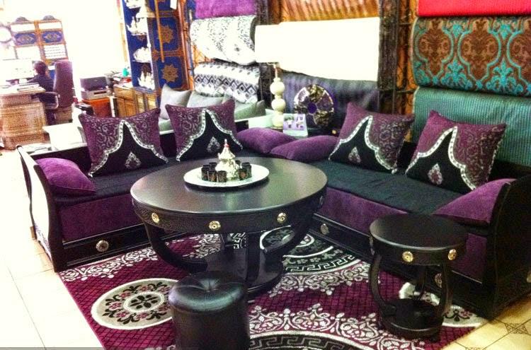 Attrayant Salon Marocain Mauve.