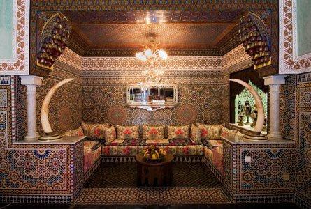 Salon marocain Royal de luxe