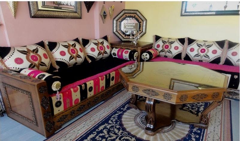 Les meilleurs maallems de d coration marocaine d co salon marocain for Decoration chambre de nuit marocain