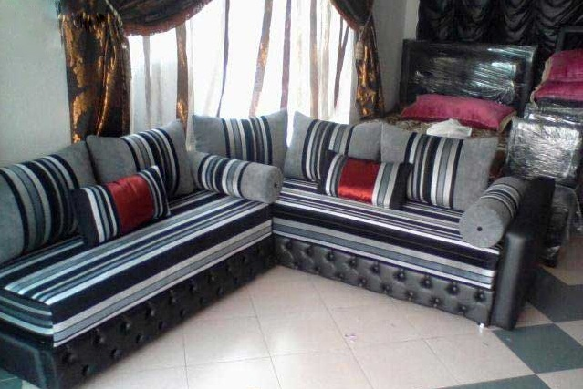 achetez un salon marocain lyon sur mesure d co salon marocain. Black Bedroom Furniture Sets. Home Design Ideas