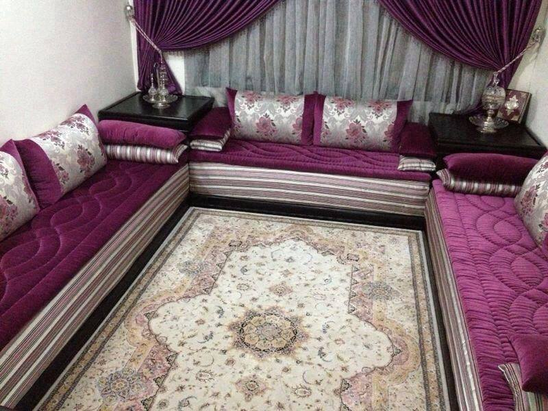 tlamet salon marocain benchrif ou bahja. Black Bedroom Furniture Sets. Home Design Ideas