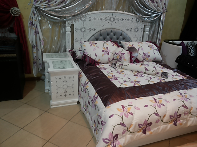 Salons marocains chambres coucher accessoires tissus for Accessoire chambre a coucher