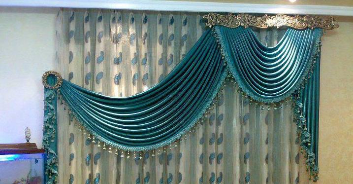 Rideaux marocains pour salon marocain - Deco rideaux pour salon ...