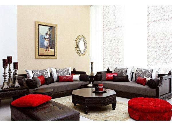 les meilleurs mod les de salon oriental au maroc d co. Black Bedroom Furniture Sets. Home Design Ideas