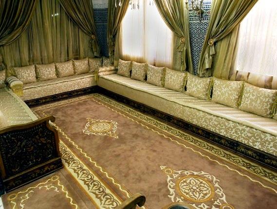 Mod les de salon marocain pour les grandes surfaces for Les salons 2017