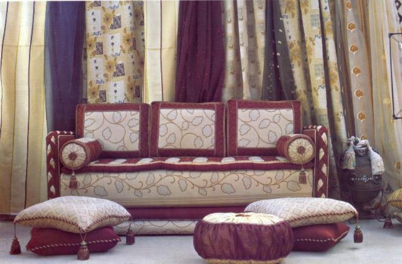 salon marocain de luxe à casablanca