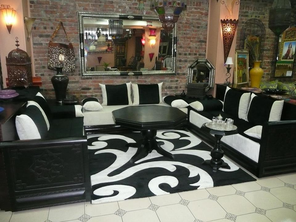 design de salon moderne marocain d co salon marocain. Black Bedroom Furniture Sets. Home Design Ideas