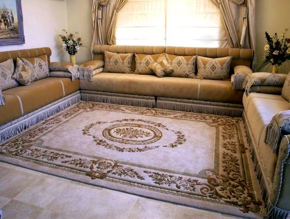 Mod les de salon marocain pour les grandes surfaces for Des salons 2016