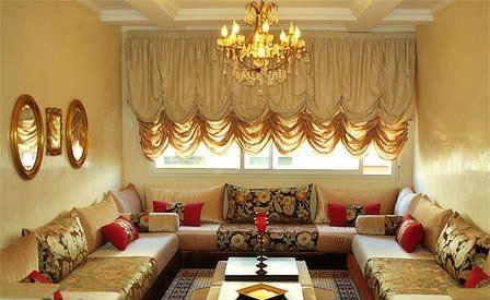 Nouveaux Modèles De Salon Marocain Traditionnel