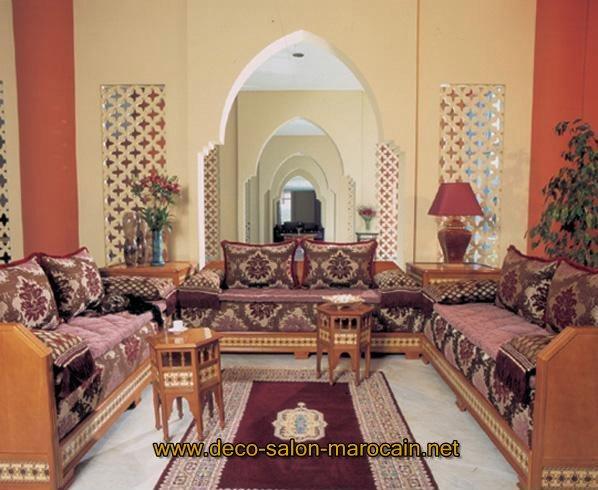 Décoration de salon marocain