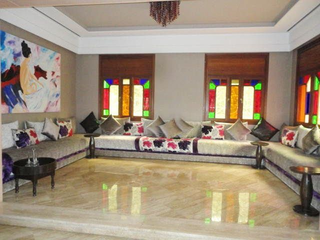 Photos de salon marocain design 2015 d co salon marocain for Photos de salon