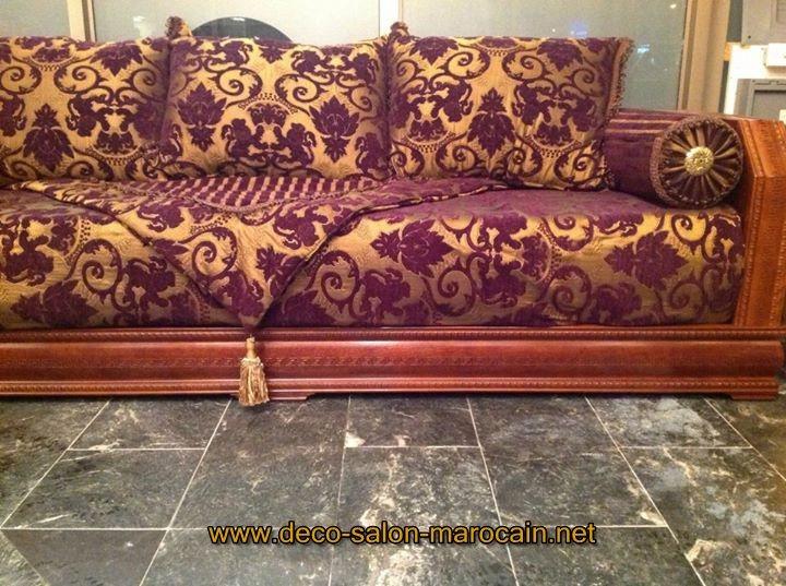 Modèles meubles salon maghrebi