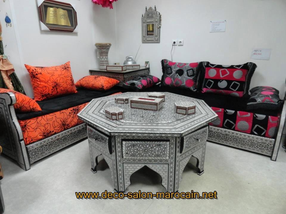 Mod les de salon marocain orly d co salon marocain for Salon de balcon pas cher