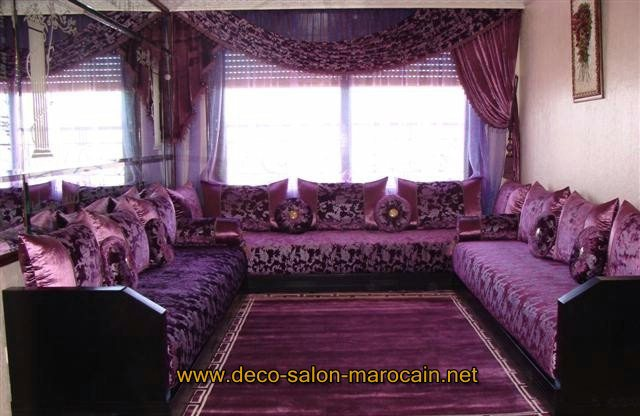 id e d co pour salon marocain oriental d co salon marocain. Black Bedroom Furniture Sets. Home Design Ideas
