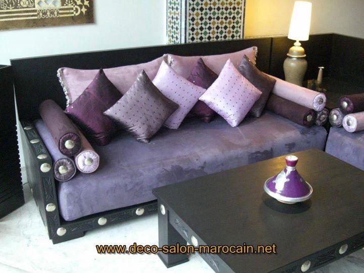 Fabrication De Canapé Salon Marocain Déco Salon Marocain