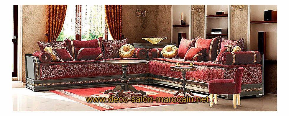 La tapisserie marocaine pour salon traditionnel d co for Decoration de salon design