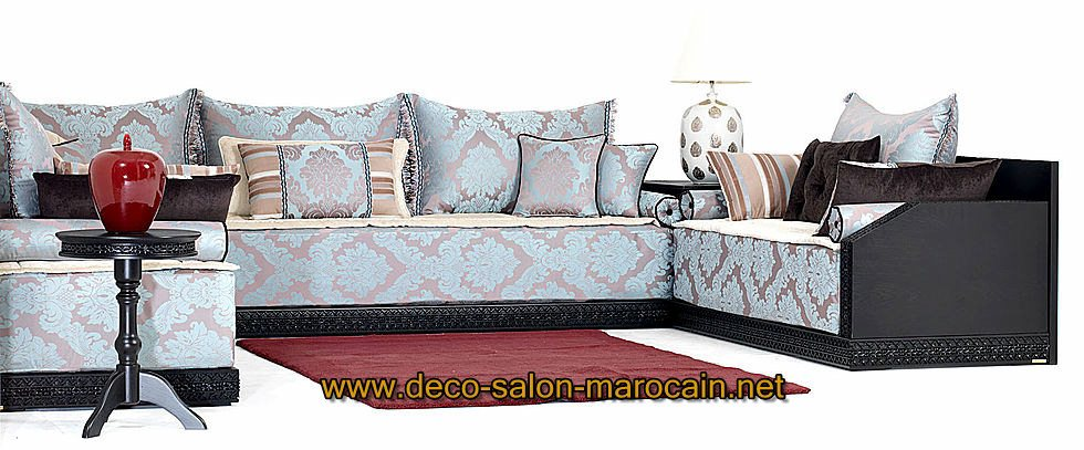 mod les salon marocain richbond d co salon marocain. Black Bedroom Furniture Sets. Home Design Ideas