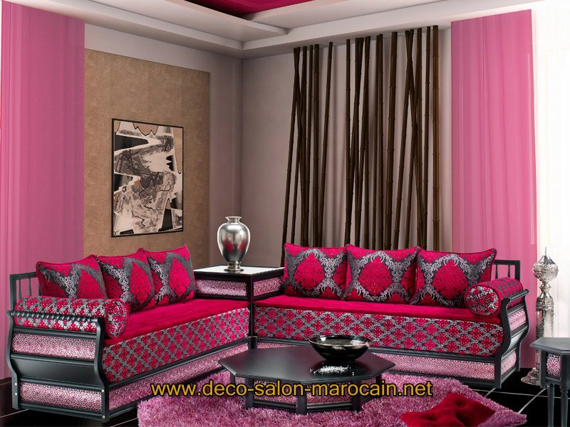 salon contemporain marocain salon du maroc haute gamme - Salon Marocain Contemporain