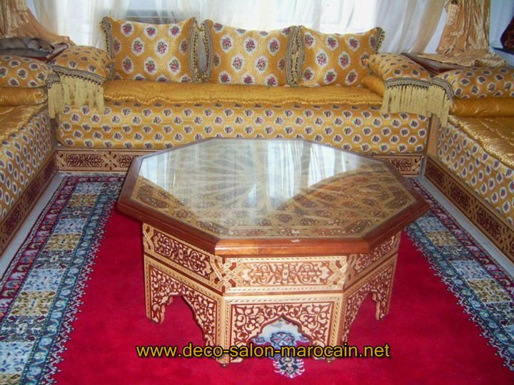 achat de salon marocain en ligne d co salon marocain. Black Bedroom Furniture Sets. Home Design Ideas