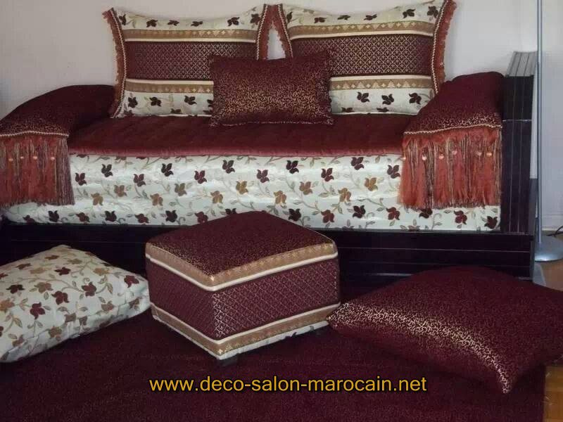 les nouveaux mod les de salon marocain traditionnel d co. Black Bedroom Furniture Sets. Home Design Ideas