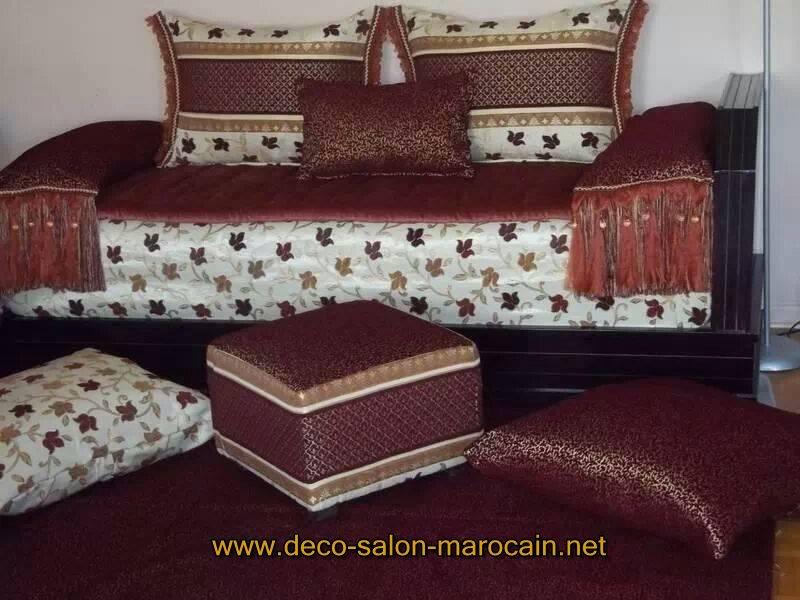 Nouveaux modèles de salon marocain