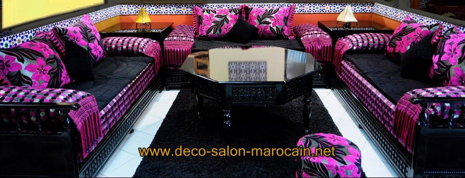 Salon Marocain style moderne
