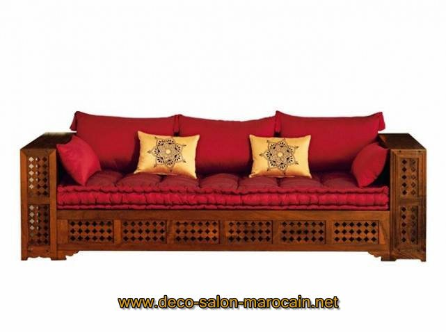 salon marocain en bois arabesque d coration. Black Bedroom Furniture Sets. Home Design Ideas