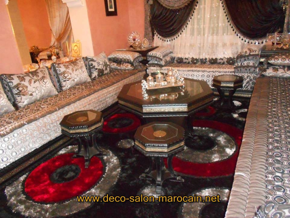 Salon marocain traditionnel