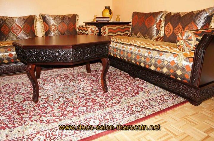 Tissus de salon benchrif marocain d co salon marocain for Tissu de salon marocain