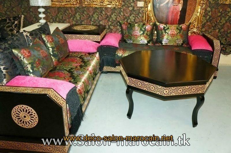 Des mod les de salon marocain tapissier d co salon marocain for Matelas de salon marocain