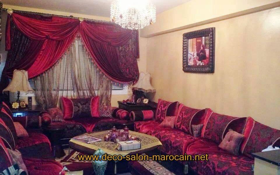 achat de salon marocain en ligne d co salon marocain. Black Bedroom Furniture Sets. Home Design Ideas
