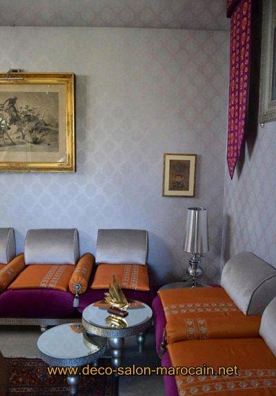 Tissu salon marocain catalogue moderne d co salon marocain for Salon marocain moderne nice