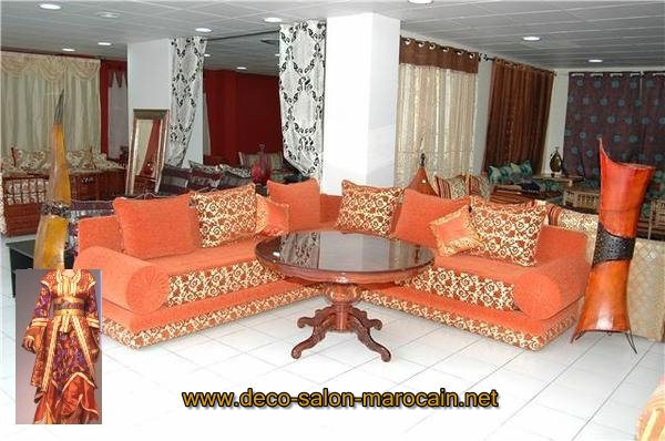 salon traditionnel marocain