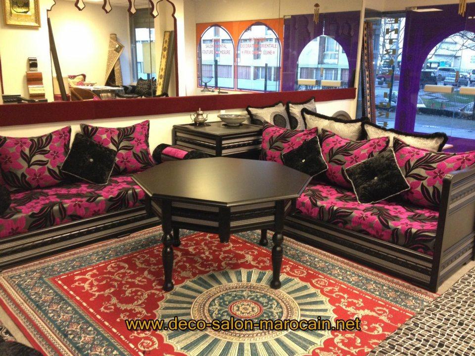 Magaisn de salon marocain moderne avignon d co salon for Matelas de salon marocain