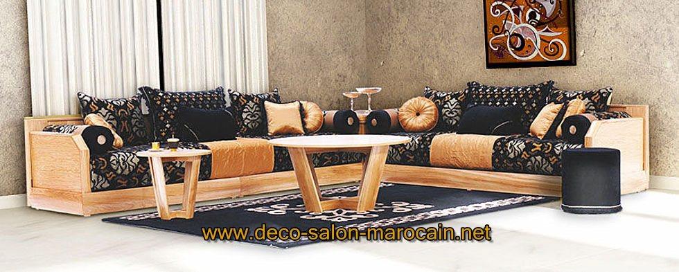Vente de  salon marocain moderne