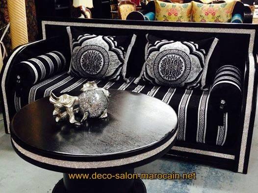 Fabrication de canapé salon marocain
