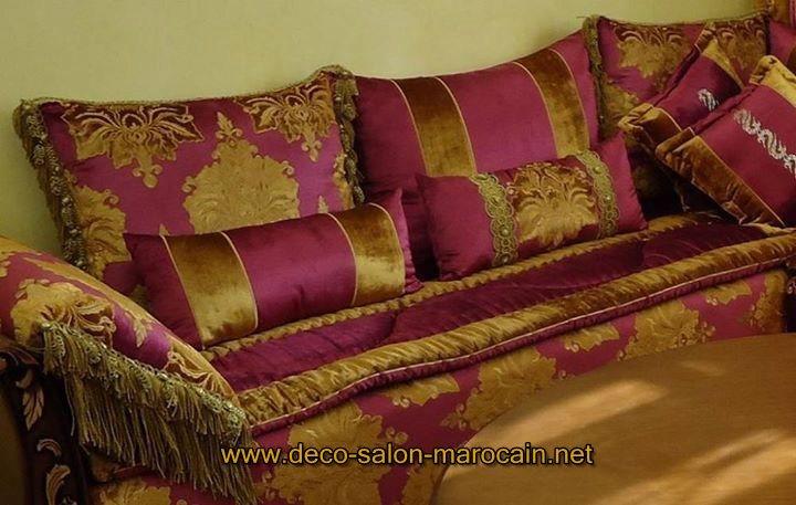Salon marocain en cuivre traditionnel