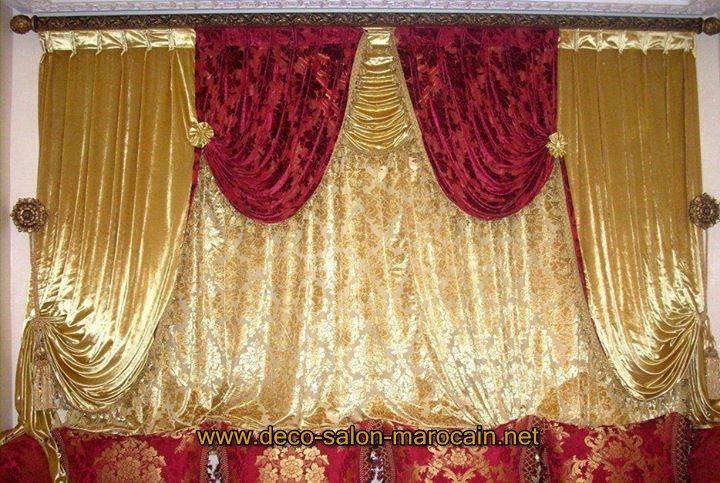 Salon marocain en cuivre traditionnel style