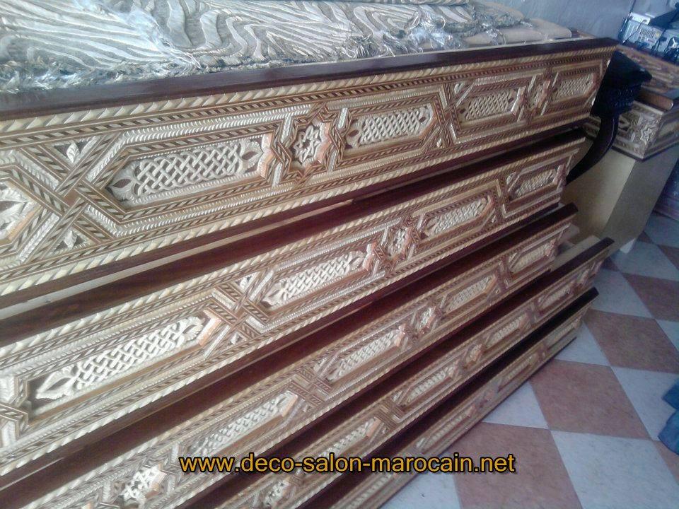 Banquettes pour salon marocain déco