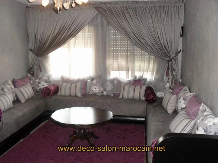 salon marocain de luxe les tendances d coration de l 39 ann e 2016 d co salon marocain. Black Bedroom Furniture Sets. Home Design Ideas