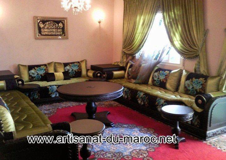 Création de salon marocain moderne