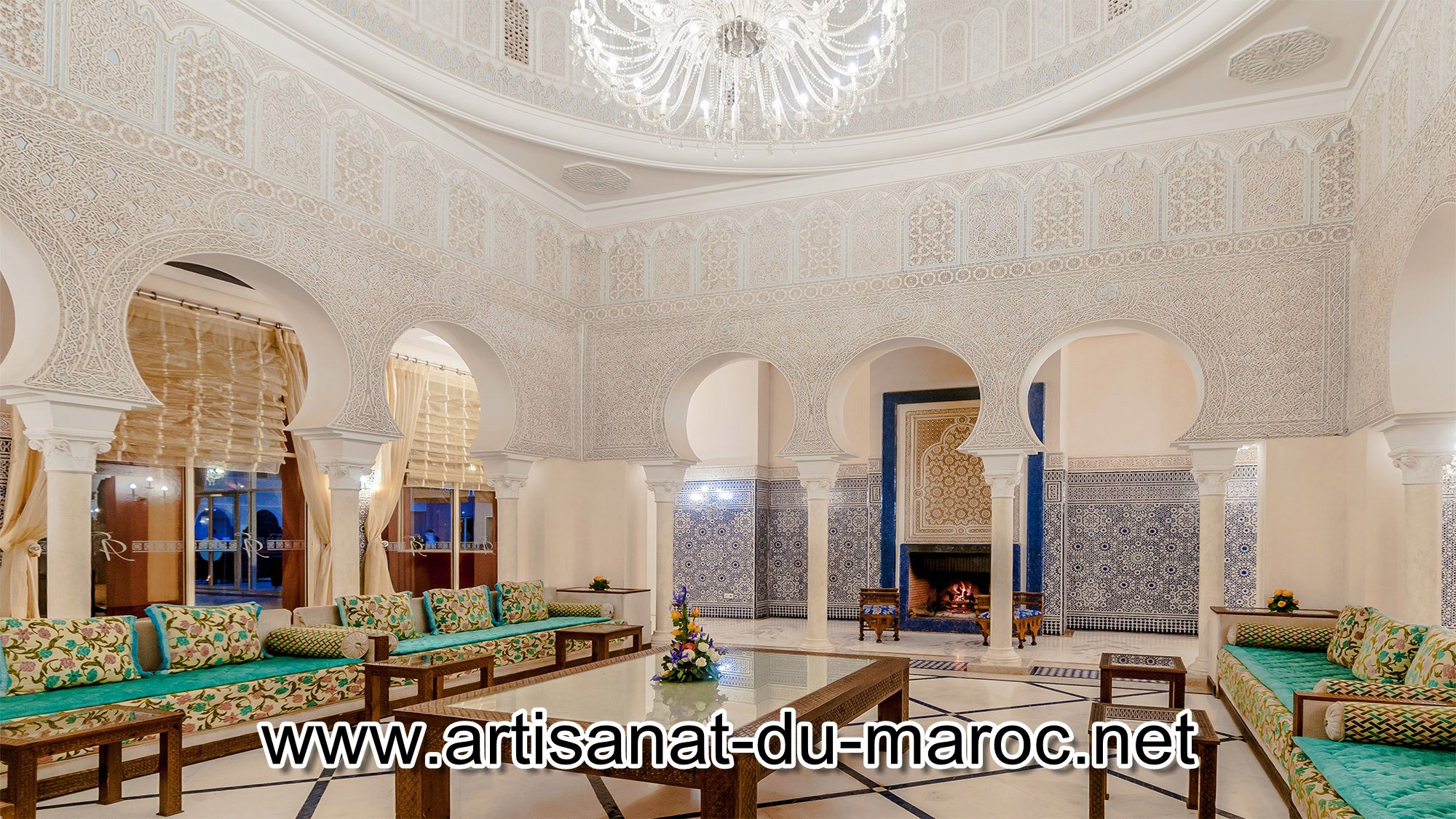 Décoration marocaine des salons Marrakech