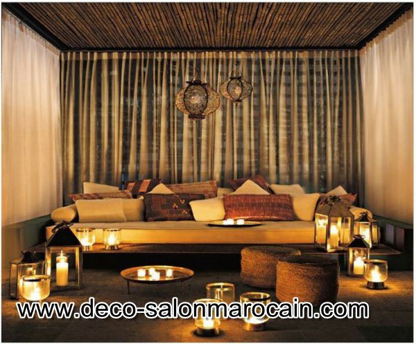prix de salon marocain pas cher d co salon marocain. Black Bedroom Furniture Sets. Home Design Ideas