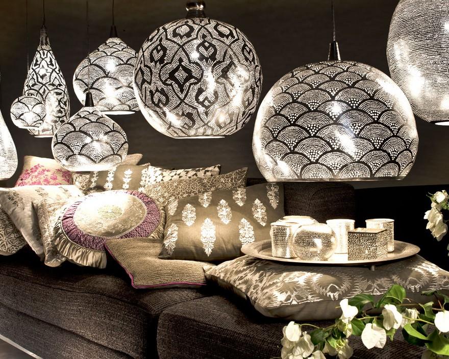 Le design de lanterne marocaine pour une décoration orientale  Déco