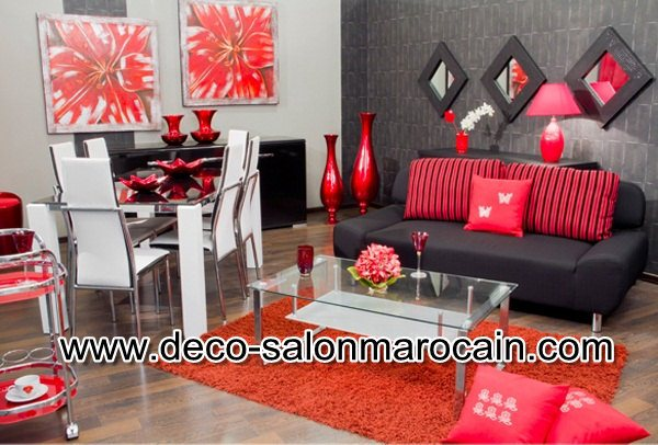 Salon arabe moderne 2016 d co salon marocain for Decoration salon marocain moderne 2016