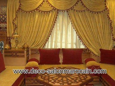 prix de salon marocain pas cher d co salon marocain. Black Bedroom Furniture Sets. Home Design Ideas